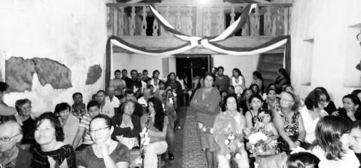 Visita de pesquisa à Capela Santa Cruz